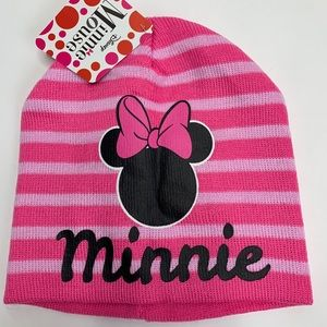 Minnie mouse snow hat NEW